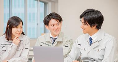 業務を分散させることで<br>社員様の負担を軽減することが<br>できます。